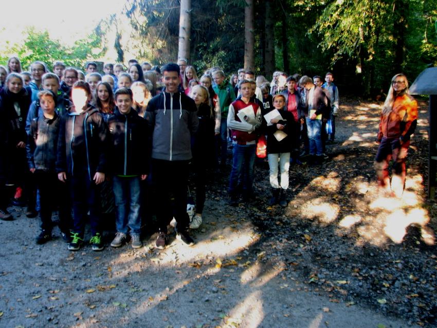 Waldpraktikum I 2016 – Pflege-Einsatz im Naturschutzgebiet Loher Tal
